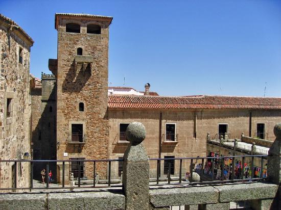 Old Town of Cáceres: Plaza de san Jorge