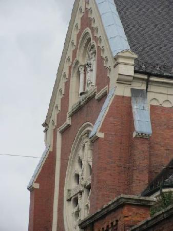 Maria Hilf Kirche der Redemptoristen: exterior