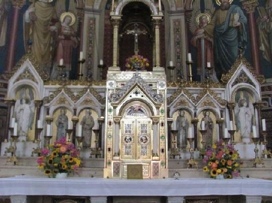 Maria Hilf Kirche der Redemptoristen: tabernacle