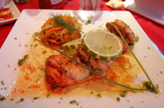 Cafe Juliette: My beautiful scallops