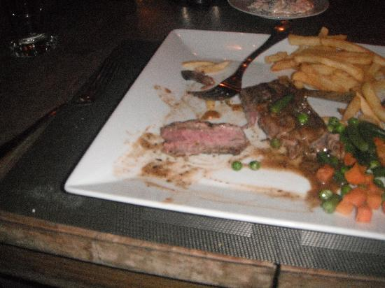 The Lodge Restaurant: Perfect Steak