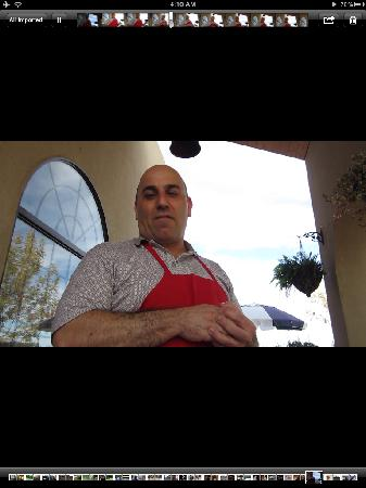 Paisano Cafe : Owner and Chef