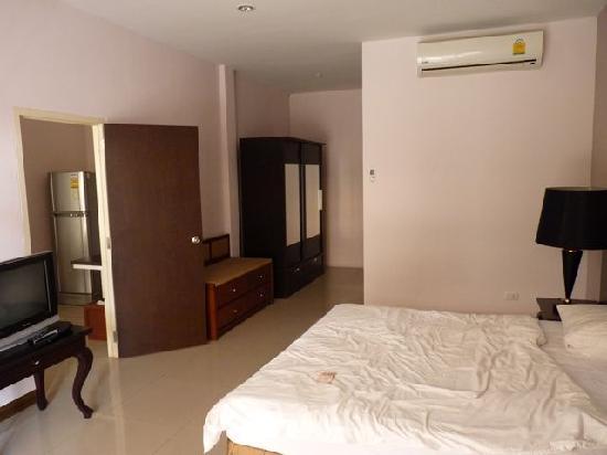 Piman Garden Hotel: Schlafzimmer