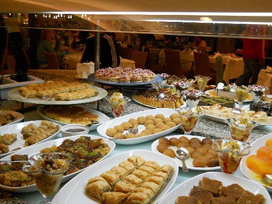 MARTI Myra: Turkish sweets corner.