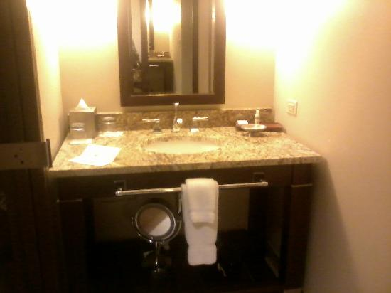 AT&T Hotel and Conference Center: Vanity/Sink