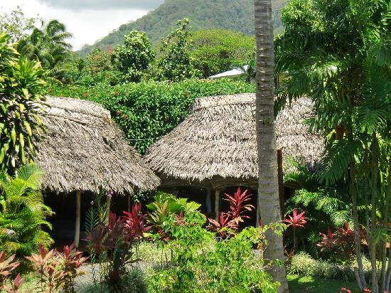 Samoan Outrigger Hotel: Garden View with Traditional Samoan Fale