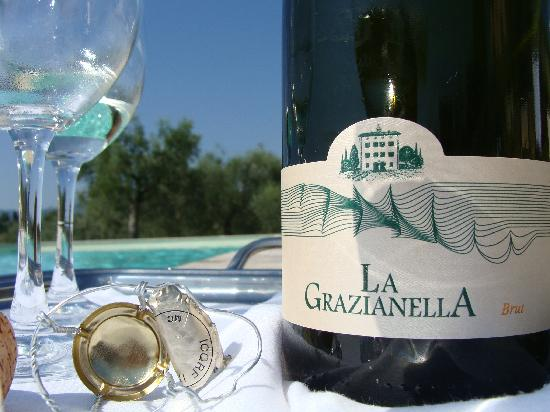 Relais Villa Grazianella - Fattoria del Cerro: Relax at the swimming pool