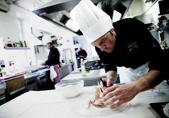 Ristorante Lamberti: Cucina a lavoro...