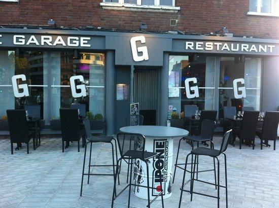Le GaraGe Restaurant: façade 1 bd de Strasbourg Arras