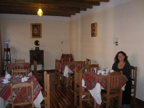 Hotel La Casa De Selenque: sala de desayuno