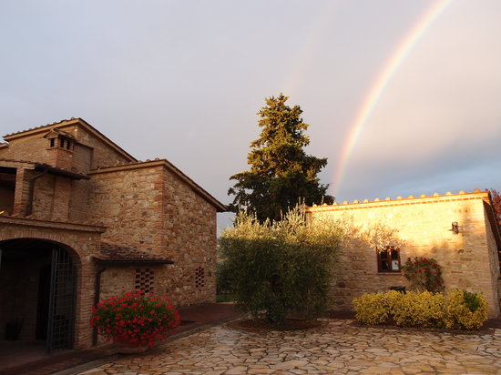 I Melograni del Chianti: Even beautiful when it rains ...