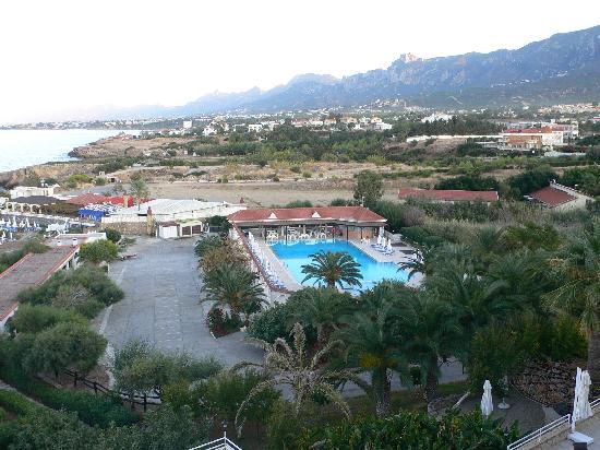 Denizkizi & Denizkizi Royal Hotel: Blick vom Zimmer