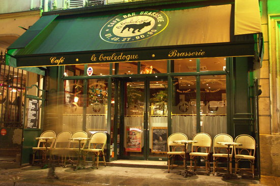 Le bouledogue restaurant cafe brasserie paris le for Paris restaurant