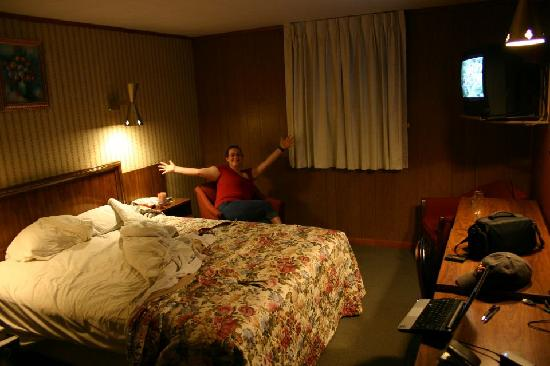 Melody Motor Lodge: inside our room