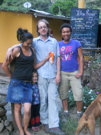 Yellow River: Me with the Quello Mayo family