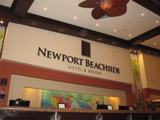 Newport Beachside Hotel and Resort: Nome esatto hotel