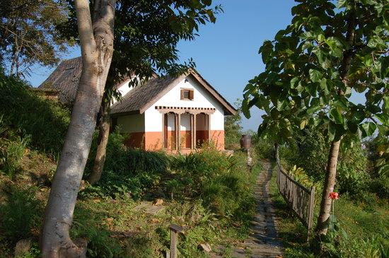 Namobuddha Resort: una de las cabañas