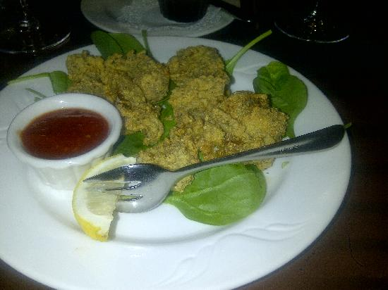 Claire's at the Depot: Fried Oysters