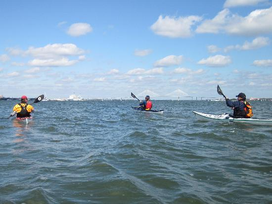 Sea Kayak Carolina: Charleston Harbor crossing