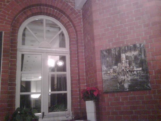Parkrestaurant Nodhausen: Das Dekor im Wintergarten ist schön