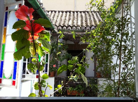 El Riad Andaluz: View from the Green Room