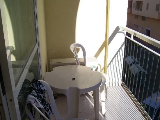Hotel Central Playa: terrazzo camera