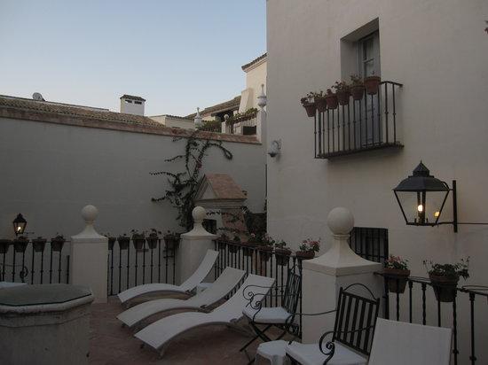 Las Casas de La Juderia: pool area