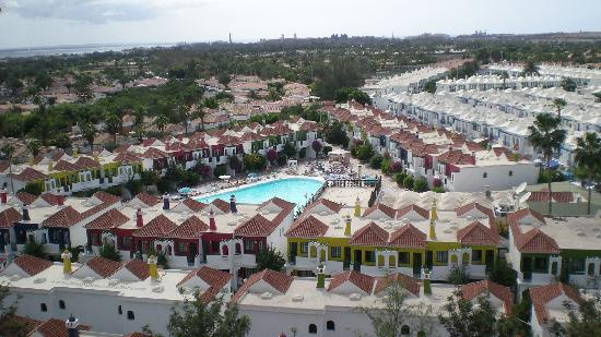 Bungalows Vistaflor: Birds eye of the complex