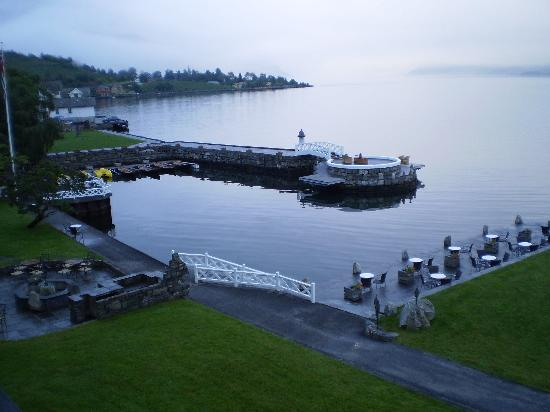 Lofthus, Norvège : View from the hotel roo