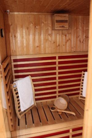 Une Nuit Ailleurs : La sauna