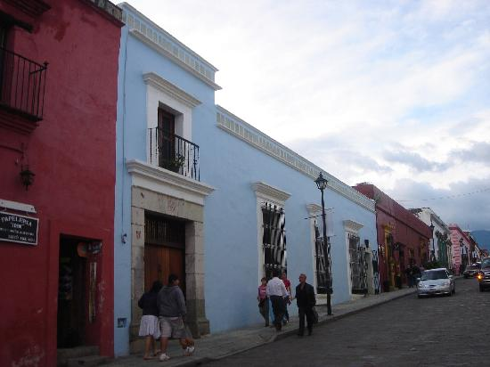Casa Oaxaca: From outside