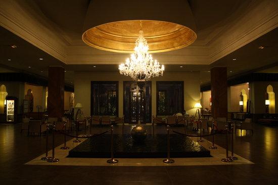 ClubHotel Riu Tikida Palmeraie: The main lobby