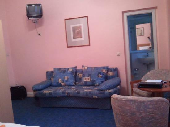Hotel Castell: Couch