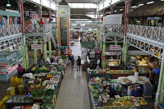 Municipal Market : Downstairs, view from upstairs