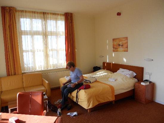 Hotel ter Duyn: the room