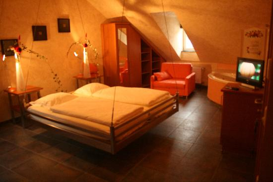 "Esch-sur-Sure, Luxembourg: The room ""Fly to the Moon"""