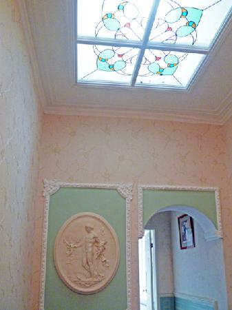 The King's Guest House: Stained Glass Window