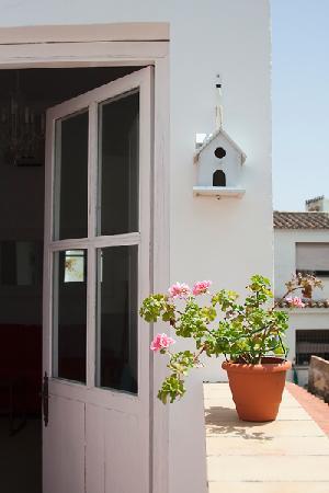 Apartamento El Patio De Ezequiel: Terraza
