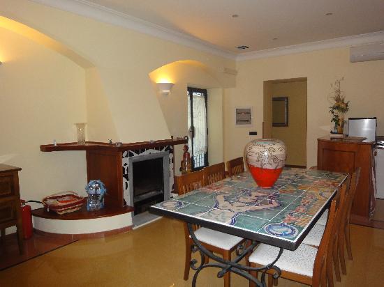 Casa Fasano: sala colazioni