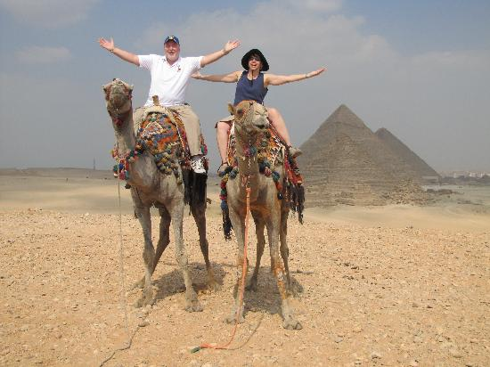 Nile Blue Excursions : CAMEL RIDE? NO PROBLEM!
