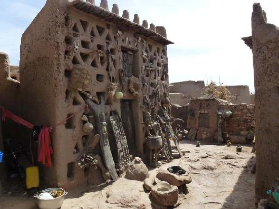 Mopti, Mali: Animists' sacred place