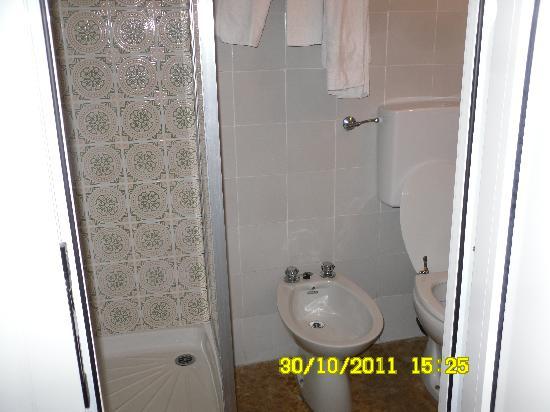 Hotel Agnello D'Oro : uno dei bagni