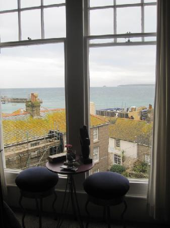 Seaforth B&B: Room with a view