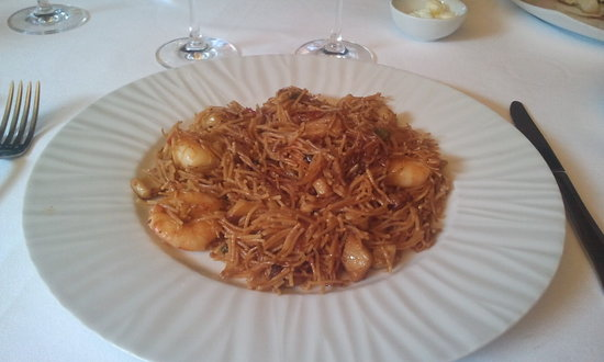 Les Marines : one of my favourite dishes, Fideua