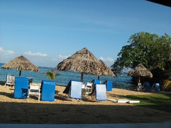 Jamaica Inn: View from your Premier Verandah, Beach Wing