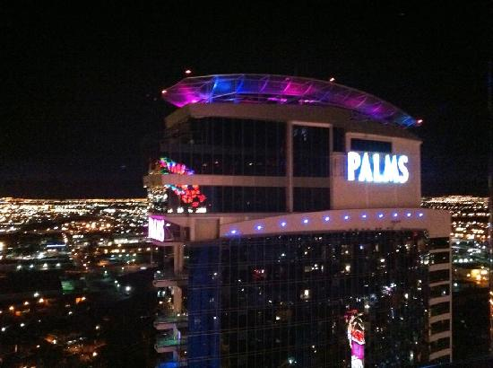 Palms Casino Resort: Palms Place from the Ghost Bar - at the top of The Palms Casino Hotel