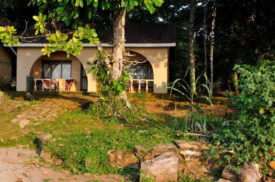 Ssese Islands, Ouganda : Each litle house, two rooms