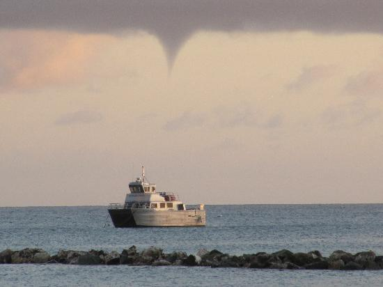 Four Seasons Resort Nevis, West Indies: Waterspout