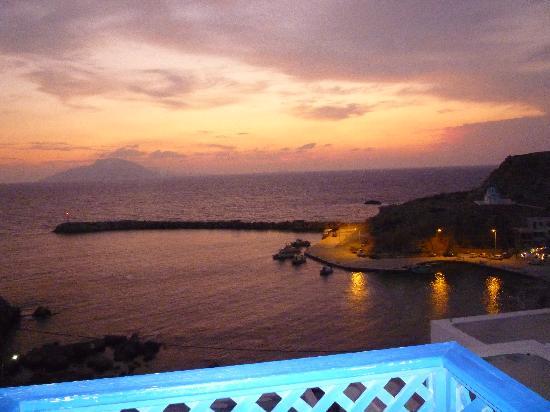 Hotel Alkioni: Blick vom Balkon meines Zimmers :)