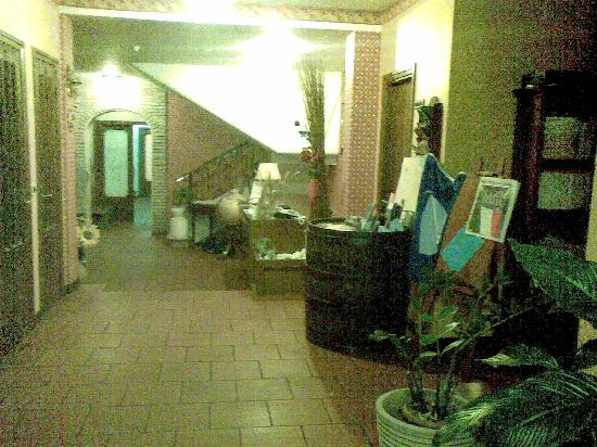 Hotel Girasole: La hall
